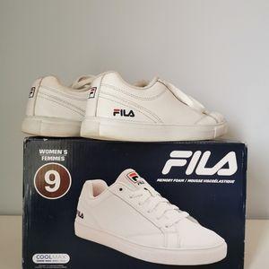 FILA Women's running shoes White Coolmax Size 9